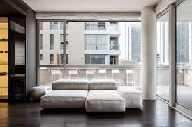 HiTech Milan Apartment With Terrace Design Project Small Design - Apartment terrace design