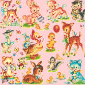 vintage fabric wallpaper gift wrap spoonflower
