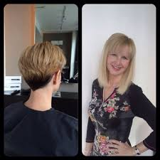extensions for pixie cut hair great lengths before and after pixie cut to mid length bob yelp