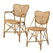 Esszimmerst Le Aus Rattan Designerstühle Design Zum Reinsetzen