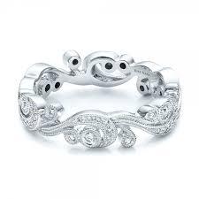 filigree wedding band filigree and diamond eternity wedding band kirk kara 100891