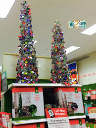 target awesome deals on tinsel trees hip2save