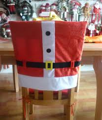 santa hat chair covers must christmas chair back covers unique christmas decorations