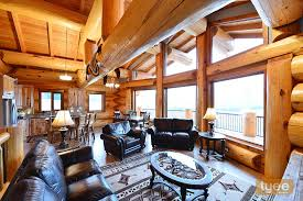 log homes interior log homes
