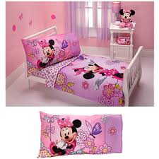Cheap Toddler Bedding Buy Disney Toddler Girls Minnie Mouse U0026quot Totally Minnie U0026quot 2