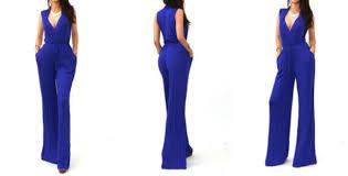 royal blue jumpsuit romper jumpsuit wide leg jersey rayon pocket jumpsuit royal