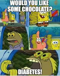 Chocolate Meme Spongebob - chocolate spongebob meme imgflip