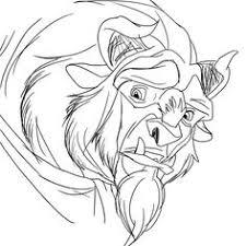 beauty beast art illust illustration design drawing