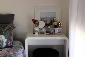 bedroom small rectangle white makeup vanity for bedroom bright