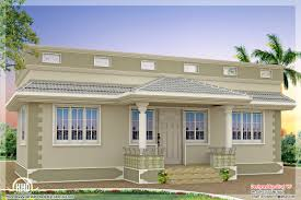 Single Story Flat Roof House Designs Front Elevation Of Single Floor House Kerala Ideas And Flat Roof