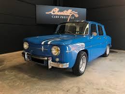 renault gordini r8 renault r8 gordini chantilly cars prestige