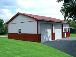 pole barn garage doors for barns post frame building door options buildings