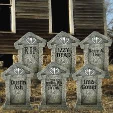 Corn Stalk Decoration Ideas Funny Halloween Tombstones Affordable Halloween Decorations Scary