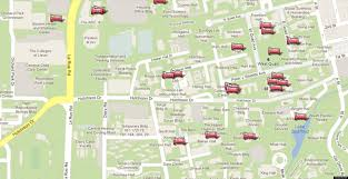 Best Map Uc Davis Google Map Shows Best Nap Spots On Campus Photo Huffpost