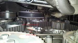 volvo s80 t6 trying to get the timing belt of my 03 s80 t6