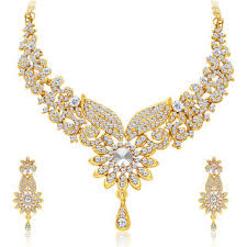 gold plated necklace sets images Buy sukkhi gold alloy gold plated necklace sets for women online jpg