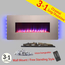 Electric Fireplace Heater Insert Fireplace Inserts Fireplaces The Home Depot