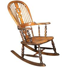 Rocking Chair Antique Styles Windsor Style Rocking Chair Vintage Rocking Chair Windsor Style