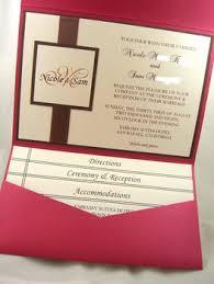 diy pocket wedding invitations photo via diy wedding invitations