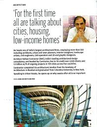 architect hafeez contractor award winning indias largest and