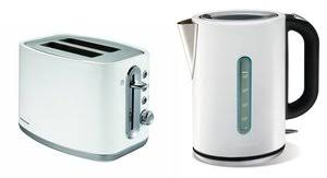 Morphy Richards Toasters And Kettles Morphy Richards Elipta White Jug Kettle And Elipta White 2 Slice