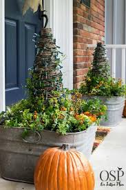Front Porch Planter Ideas by 873 Best Fall Gardens And Porches Images On Pinterest Fall