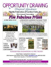 florida federation of garden clubs convention 2017