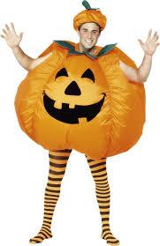 pumpkin costume smiffy s men s pumpkin costume with built
