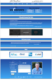 voice over web design portfolio websites we created for the