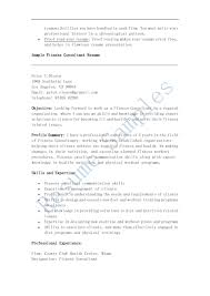 Sample Fitness Instructor Resume Health And Fitness Cover Letter Choice Image Cover Letter Ideas