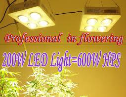 Hps Lights 200w Grow Ligtht 50w Cob Led Grow Light Professional In Flowering