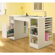 desk crafting desk with storage within delightful simple ideas