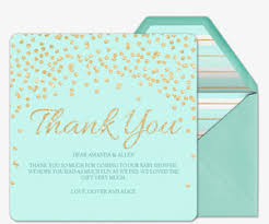 online thank you cards evite send premium online thank cards thank you notes