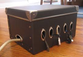 Build Your Own Charging Station Diy Charging Station Made From A Shoe Box Diy For Life