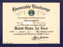 honorable discharge certificate discharge and form dd 214