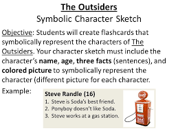 the outsiders character sketch greasers front side darrel