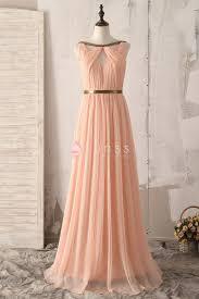 flowy bridesmaid dresses flowy chiffon unqiue sleeveless floor length a line