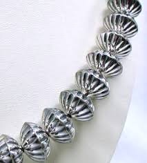 silver ball beads necklace images Navajo pearls everything you need to know about sterling silver jpg