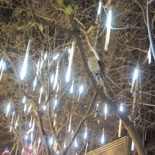 outdoor led lights for trees with 30cm 144 led 8 meteor