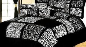 Zebra Bed Set Improbable Zebra Print Bed Set Black Lime Zebra Comforter Set Z