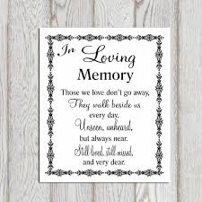 in loving memory quote for weddings quote number 602601