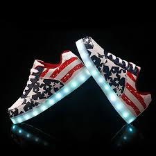 light up tennis shoes for adults led sneaker shoes women s tennis shoes red white and blue memorial