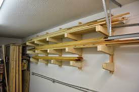 ana white diy wall mounted lumber rack featuring lane bros
