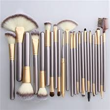 unimeix professional makeup brushes 24 pcs quality natural cosmetic brush set wi