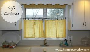 yellow kitchen curtains curtain yellow cafe curtains jamiafurqan interior accessories