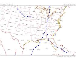 Weather Fronts Map Lab Activity For Metr 104 Intro To Meteorology W Lab