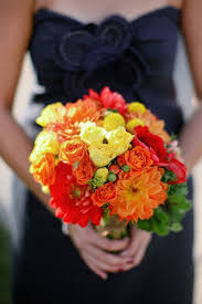 Wedding Flowers Fall Colors - 66 best fall weddings images on pinterest fall wedding bouquets