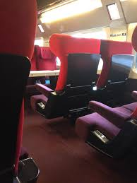 Thalys Comfort 1 Review Thalys Comfort 1 From Brussels To Paris The Forward Cabin