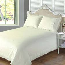 victoria cream lace embroidered single duvet set duvet cover and