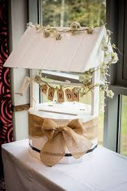 wedding wishes box wooden wedding wishing well white ivory card box incl lid as